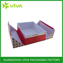 High quality custom fancy paper sweets packaging boxes