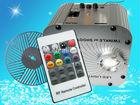 "27w LED RGB fiber optic illuminator,with 20key RF remote and ""running water"" wheel;AC100-240V input"
