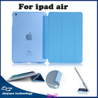 For ipad air Smart Case,Ultra slim Hard Case for Tablet PC ,Fashion Simple Flip Case for ipad air for ipad5