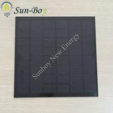 200*200mm 12V 5W PET Solar Panel