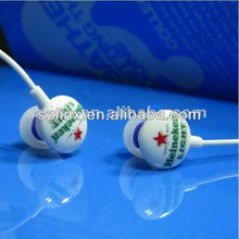 Hot Selling Beans Shape ear pieces With Custom Brands