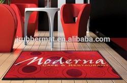 nice custom size company logo pattern advertising carpet