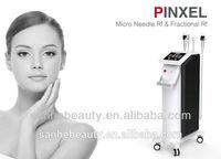 2014 Anti-aging Monopolar Micro needle Fractional RF beauty Machinery