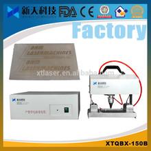 China portable pneumatic dot marking machine mark barcode