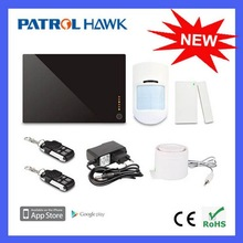 DIY Packing App Controls Wireless GSM Home Alarm System Kit with Small & Large Kit For option G1