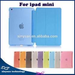 Hot Sale For iPad Mini 2 Folio PC and PU leather Cover Case,New Arrival Folio Leather Case For iPad Mini retina