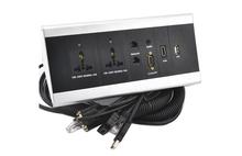 JS-FK Hotel Desktop Flush Mounted Outlet Supplier