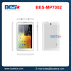 Best selling MTK8312C dual core android dual camera phone call function 7 inch mediatek tablet pc