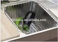 2014 neue edelstahl stahl küche lagerung spüle legen