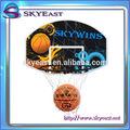 Great Value cesta de basquete Net com encosto e tamanho 7 bola para as crianças