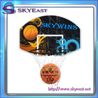 Great Value Basketball Hoop Net with Backboard and Size 7 Ball for Kids