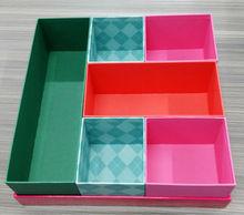 Cardboard ikea storage box with lid