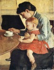 Wholesale famous figure oil paintings mother and child