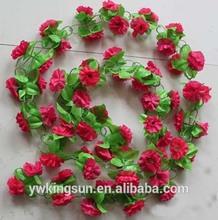 2 meter Artificial flower simulation cane vine ivy wedding decoration