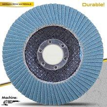 "5""Cost effective abrasive flap wheel T27"
