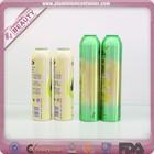 Aluminum aerosol lidl bottle