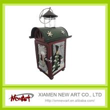 home decoration metal christmas lantern