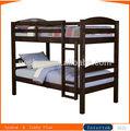 crianças preto clássico de madeira maciça cama de beliche