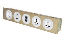 Aluminum AV Network Multifunctional wall mounted face plate supplier