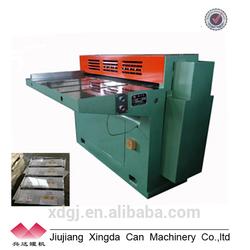 Tinplate Slitter Metal Can Cutting Machine
