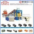 Emboîtement machine de brique qt4-15d au nigeria