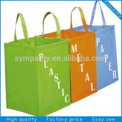 non woven shoping bag reusable shopping bag promotion tote bag