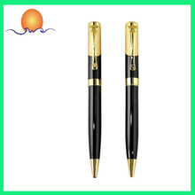2014 Hot Sale Golden Pen Clip With Crystal