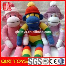 cheap sock monkey toy