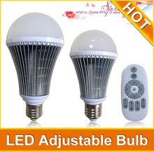 e27 remote control 16 color rgb led bulb light