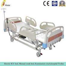 ALS-ME01 Hospital manual and electric together bed