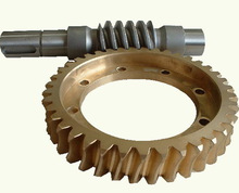 precise custom steel/brass mini worm gear manufacturer