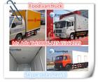 mini box van truck,2000KG - 5000KG truck cold van,second hand van truck