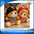 Hochwertige kinder spielzeug plüsch teddybär förderung mini-piraten teddybären Namen h141686
