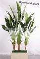 Plantas y árboles artificiales/falsos artificial de árboles de plátano lanscaping hojas de tela