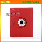 hot selling pu leather 360 rotating case for ipad mini retina case