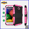 New for Moto E TPU Silicone Combo Durable Hard Case Cover Cell Phone Case Accessories Made In China