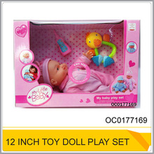 Ocean Toys Best selling 12 inch doll play set toy OC0177169