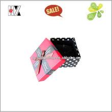custom wedding invitation polka dot gift boxes