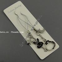 zinc alloy animal cuff bracelet enamel