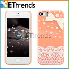 Cute pearl lace mobile accessories for girls
