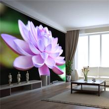 nature photo of lotus wallpaper mural