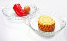 Heat resistant ceramic bakeware with lid