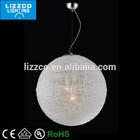 Modern Acrylic Ball Pendant Lamp