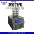 Lgj-10 múltiple tipo de congelación al vacío libre de cfc refrigeración secador de mejor precio de vacío liofilizador/liofilizador de laboratorio
