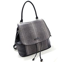 handbag of pu material girl's backpack crocodile leather handbag stylish shoulder bag SY5343