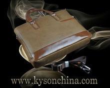 Secret compartment bag leather laptop ladies hand bags