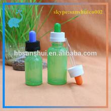 15ml 30ml glass bottles sharp dropper childproof cap