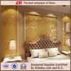 Gold glitter wallpaper gold leaf acanthus wallpaper gold wallpaper
