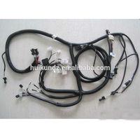 excavator wiring harness