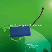 Factory lipo battery pack 7.4v 3000mah for beauty medical equipment
